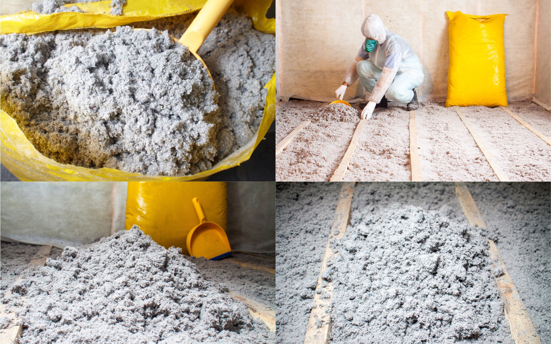 Blown in cellulose is a service offered by Energy Edge