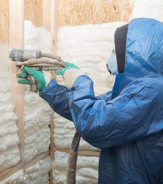Spray Foam Insulation services done by Energy Edge